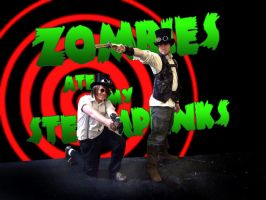 Zombies ate my Steampunks by Nedliv