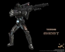Terran Ghost with Rifle by SgtHK