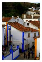 Obidos View X by FilipaGrilo