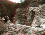 Clear Creek Canyon - Anaglyph by Temphis