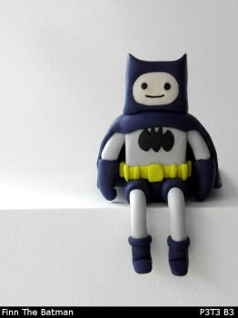 Finn The Batman by P3T3B3