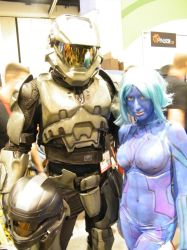 halo cosplay MC and C2 by solo-knight6