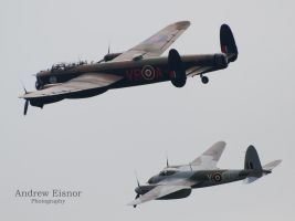 Lanc and Mossie by AEisnor