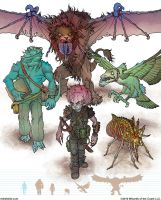Gamma World Monsters 2 by MikeFaille