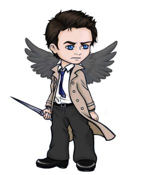 Castiel - Supernatural by ucchan