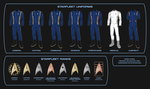 Star Trek Discovery - Starfleet Uniforms by Rekkert