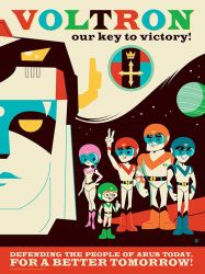 Voltron Our Key to Victory by Montygog