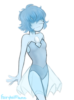blue pearl by Tea-cup-kitty