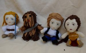 Star Wars Plushies by deense
