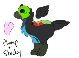 Adoptable: Paradise Tanager by StripedPaws