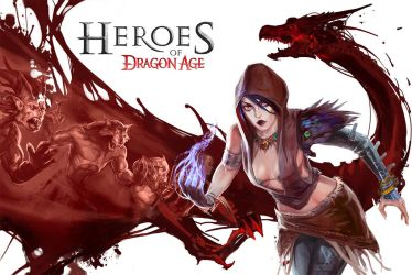Heroes of Dragon Age by anotherdamian