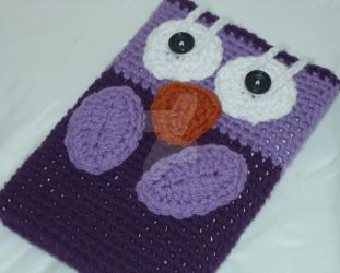 Owl e-reader sleeve by Lady-Nocturna