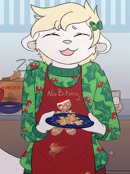 December - Hollyday Crumbs by zippuzzle