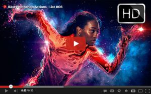 Top Photoshop Actions [ Youtube] List #06 by hemalaya