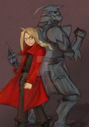 The Brothers Elric by cookiesville