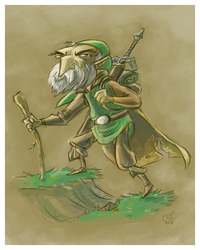 Old Man Link by tradersluck