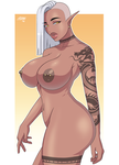 DELILAH THE BUSTY ELF! by StretchNSin