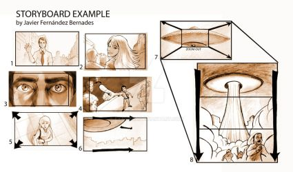 Storyboard example by Exavierx