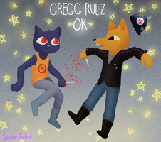 Gregg Rulz (+speedpaint) by darkaku