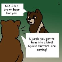 Seeker bears: Ujurak -part 1- by dancingfoxbird