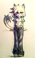 Dera the cat by NEJOLLY