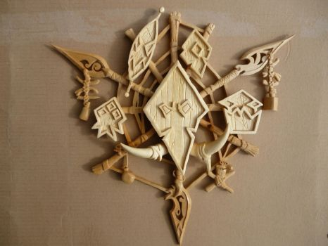 The Troll Crest from World of Warcraft by Voradorec
