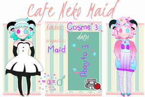 Ficha  Cafe Neko Maid  Cosmesita :3 by Lizie56698