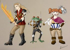 DnD Characters by Lisa-nne