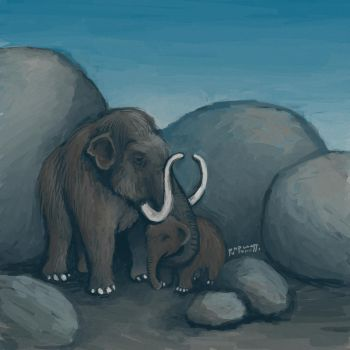 Mammoths by Pumpulaatti
