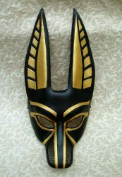 Anubis mask for opera by merimask