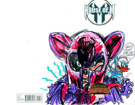 House of M M for Mickey by jose rodrigues art by joselrodriguesart