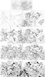 Invincible 60 cover process by RyanOttley