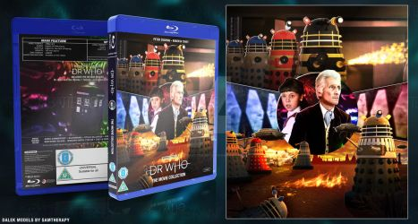 Doctor Who - The Peter Cushing Movies Blu Ray by GrantBattersby