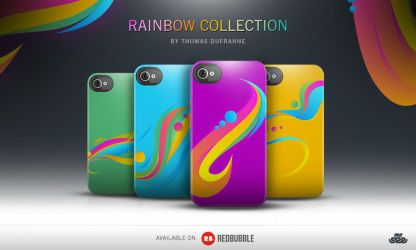 Rainbow Collection - Iphone Case by sizer92