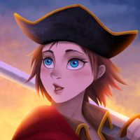 Pirate girl by gin-1994