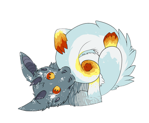 ArtFight attack 6 by holyhell111