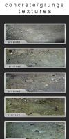 grunge concrete textures by laceratedwristsstock