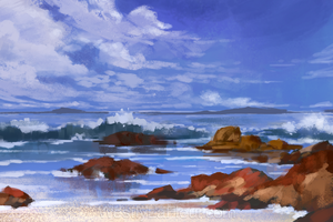 Beach by WestlyLaFleur