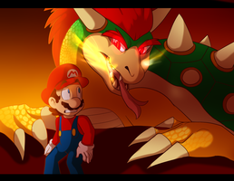 Real Dragon bowser by BaconBloodFire