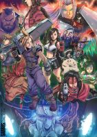Final Fantasy VII by sarrus