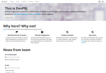 DevPRJ - A place for coders by venetik
