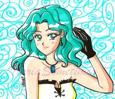 Fascinating Michiru by IlariaSometimes