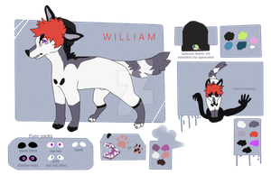 2nd sona || William 2018 by pinkedgelord