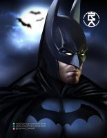 The Dark Knight by aerlixir