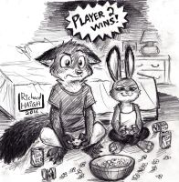 Zootopia - Player 2 by Pen-Mark