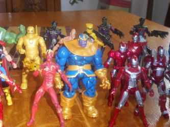 Marvel Universe Collection pt3 by Ekow2286