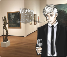 Art Critics and White Wine by SweetlyViolent