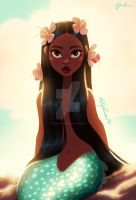 Peaceful Mermaid by DylanBonner