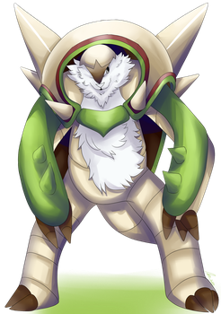 Chesnaught by infernal1021
