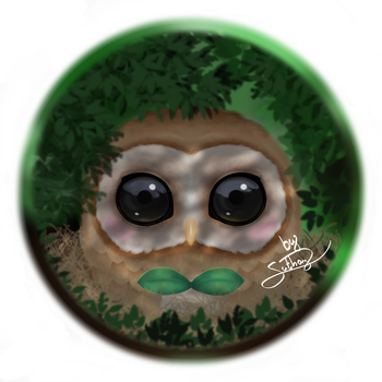 Rowlet (shadows version) by Suthay